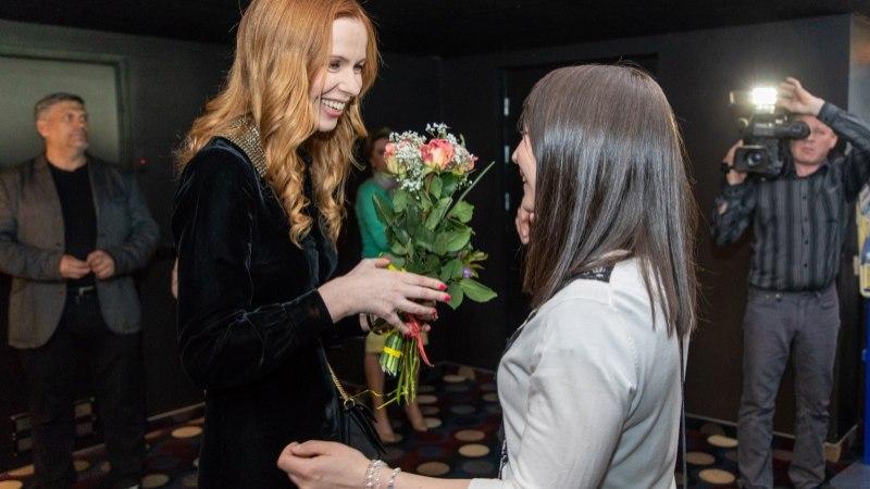 """GALERII   Sünnipäevalaps Maria Avdjushko esitles oma esimest mängufilmi """"Tuliliilia"""""""