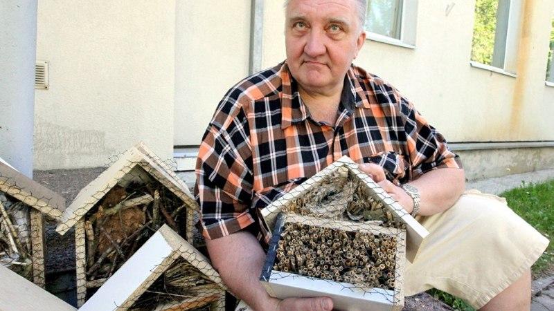 PILDID JA VIDEO | Abilinnapea Züleyxa Izmailova õnnistas sisse Tallinna esimesed putukahotellid