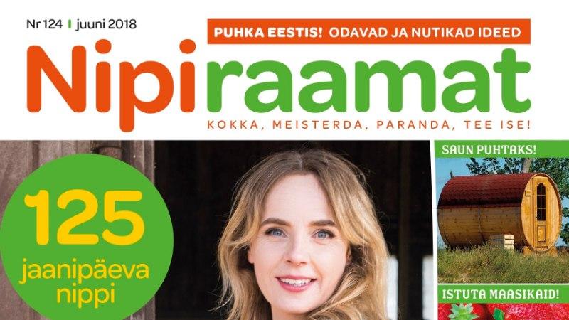 Juunikuu Nipiraamat on ilmunud! Millest seekord lugeda saab?