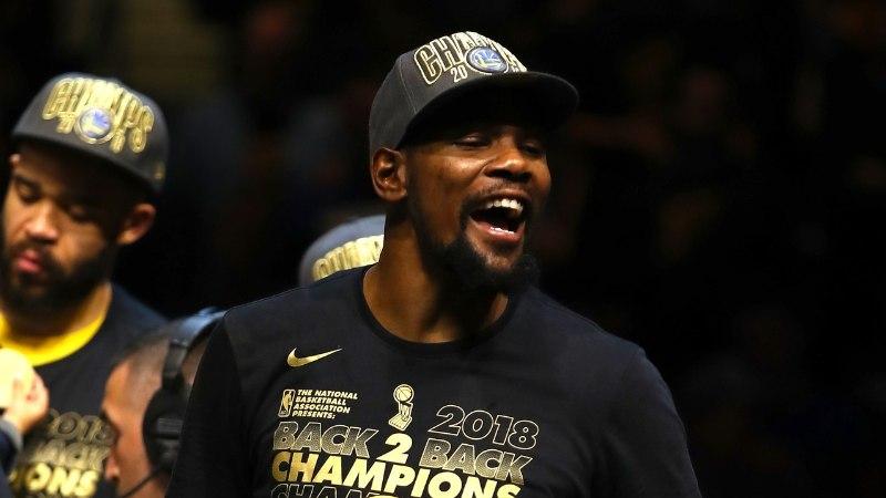 Golden State Warriors ja Kevin Durant rikkusid kõik ära? Rikkuge vastu!