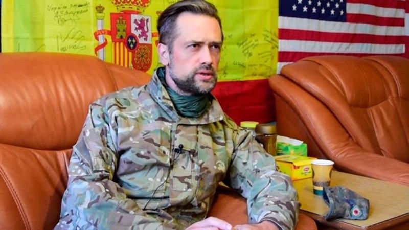 Актер Пашинин рассказал, с какой целью воюет в Донбассе