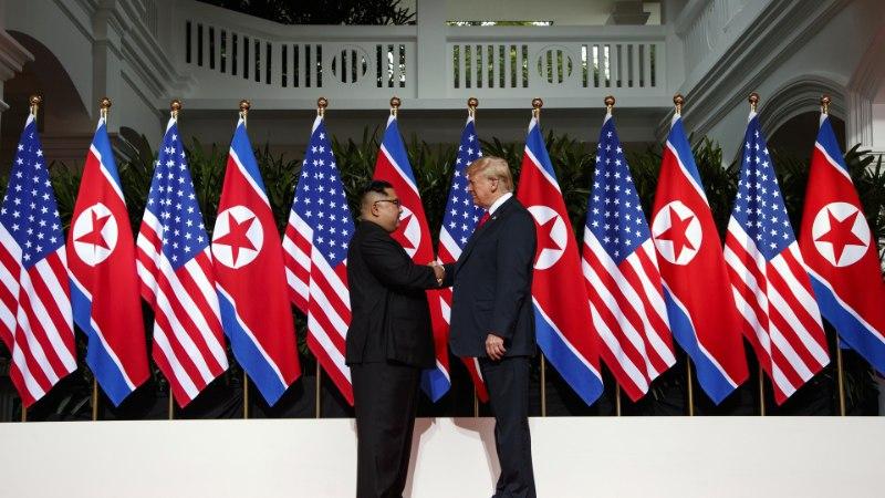 """DONALD TRUMP SINGAPURI TIPPKOHTUMISEST: """"Vaenlastest võivad saada sõbrad."""""""