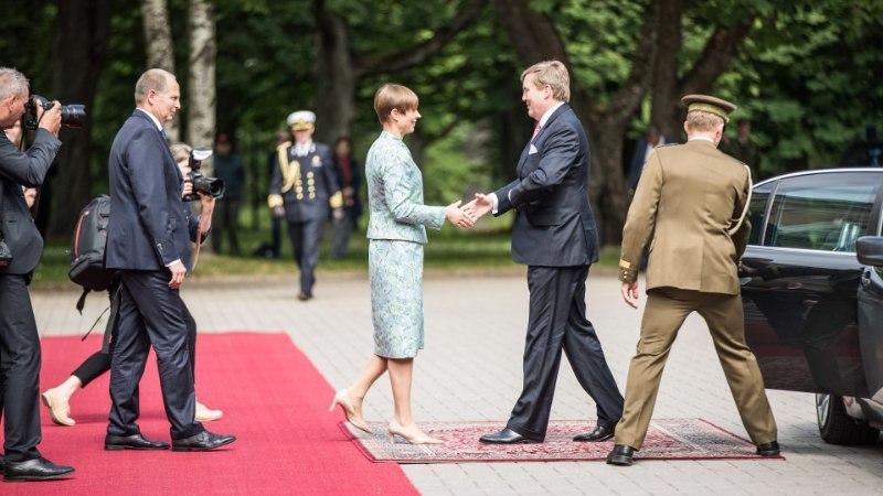 GALERII | President Kaljulaid võttis Kadriorus vastu Hollandi kuninga