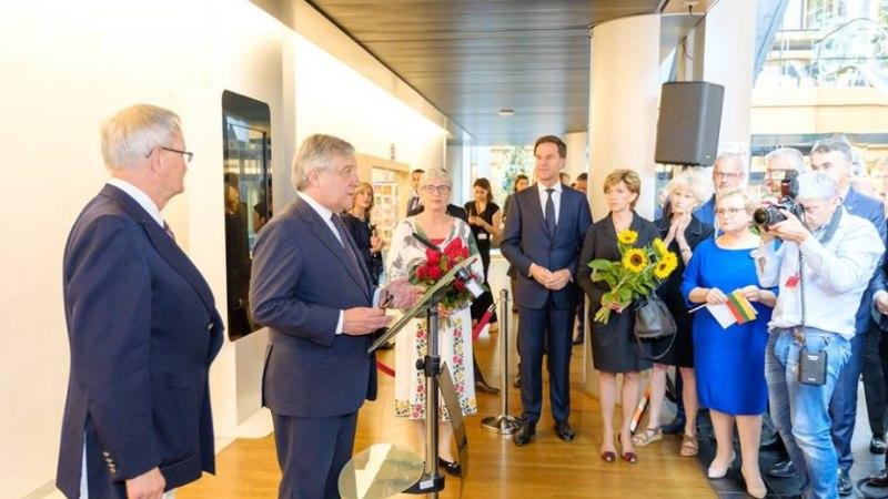 FOTOD   Europarlamendis mälestati küüditamise ohvreid