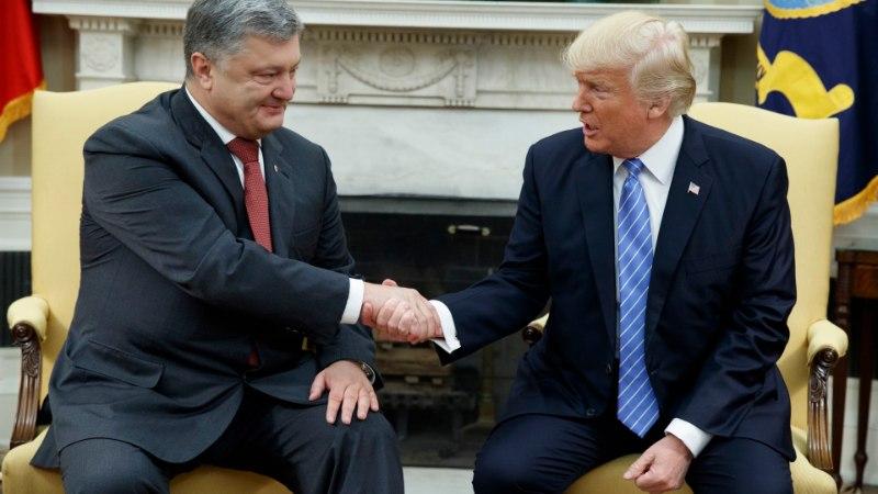 Украинский экс-дипломат рассказал об оплате встречи Порошенко с Трампом