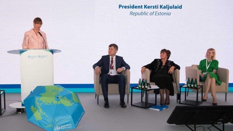 PresidentKaljulaid: võrdne ligipääs tervishoiule loob võrdsema ühiskonna