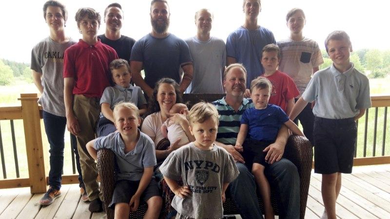 USKUMATU: perekond sai juba 14. poja