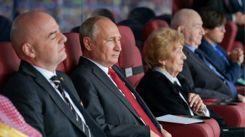 PUTIN RAHUL! Venemaa rullis MMi avamängus Saudi Araabiast jõhkralt üle