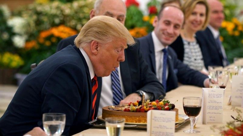 Donald Trump tähistab täna 72. sünnipäeva