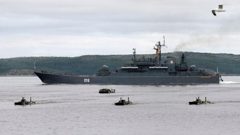 Venemaa korraldab Barentsi merel nädalase suurõppuse