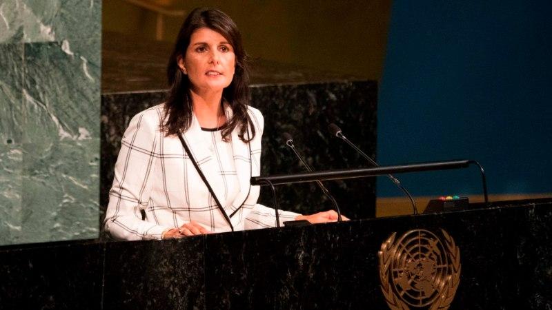 """USA saadik ÜROs: """"Mõne riigi jaoks on Iisraeli ründamine kõige meeldivam poliitiline sport!"""""""