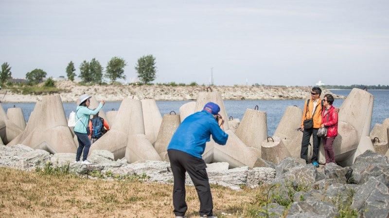 GALERII | Tallinna külastas laevatäis hiinlasi