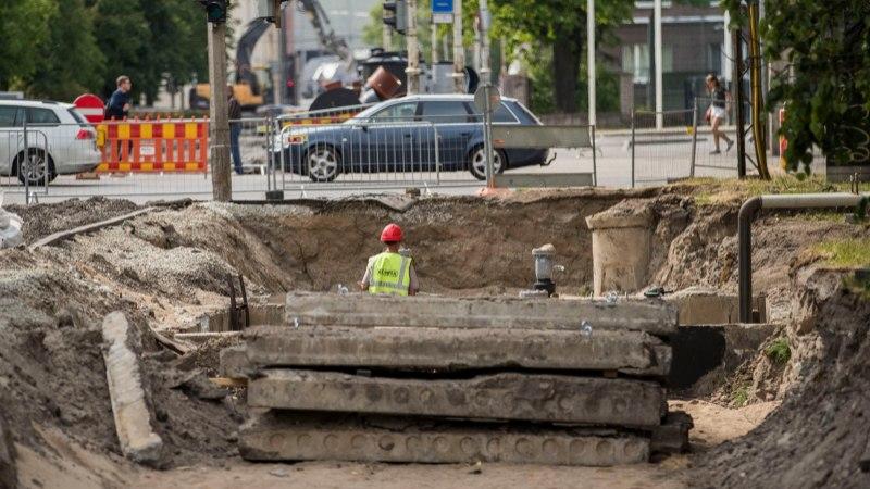 ÕL VIDEO |  Vaata, kuidas kulgeb remont Gonsiori tänaval