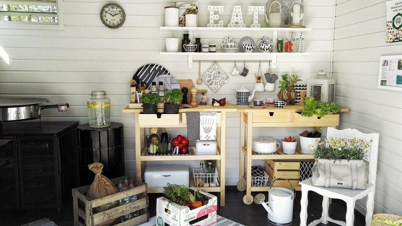 Praktiline ja mõnus õueköök