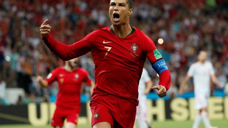Kapten Ronaldo: kõik ohverdasid end tiimi nimel