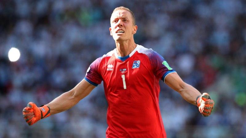 Islandi väravavaht teadis täpselt, kuhu Messi penalti lööb