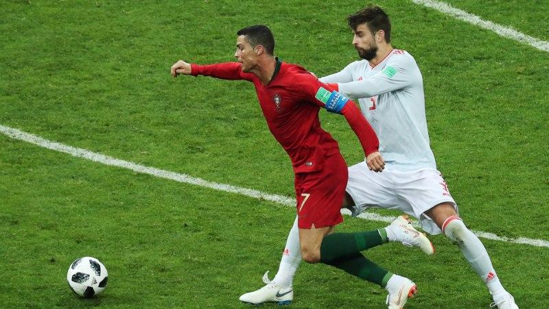 Hispaania kaitsja süüdistab Ronaldot sukeldumises