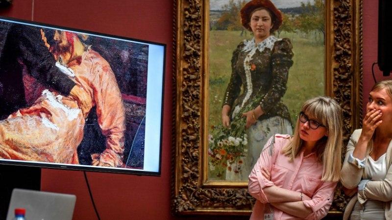 Repini maali lõhkunud vandaal tekitas kahju 413 000 euro eest