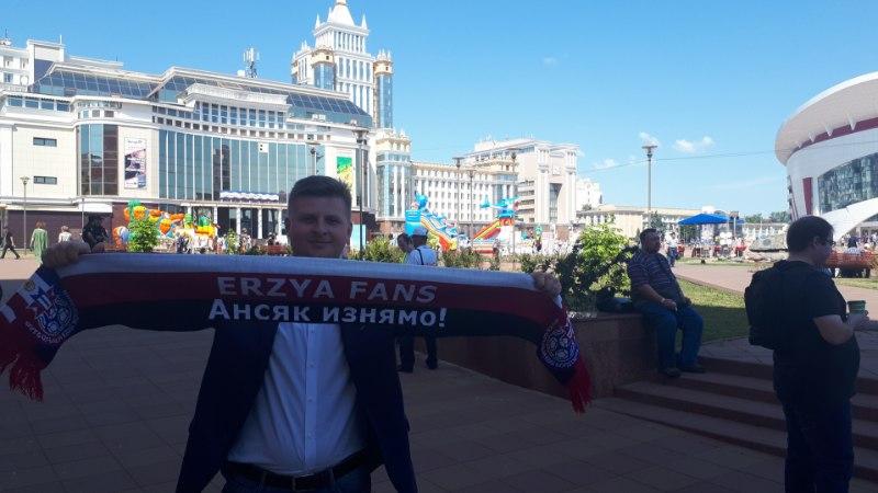 ÕL SARANSKIS | Ersa keele õpetajast jalgpallifänn: MM Mordvas tähendab soome-ugri rahvaste ühist suurt pidu