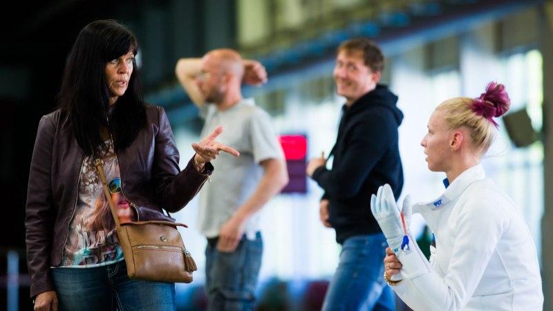 Katrina Lehise treener Helen Nelis-Naukas: kogu maailma vehklejad kirjutavad, et Katrina peab MMile saama