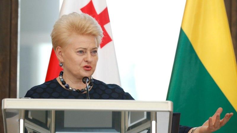 """Президент Литвы призвала быть готовыми к """"вторжению"""" России"""