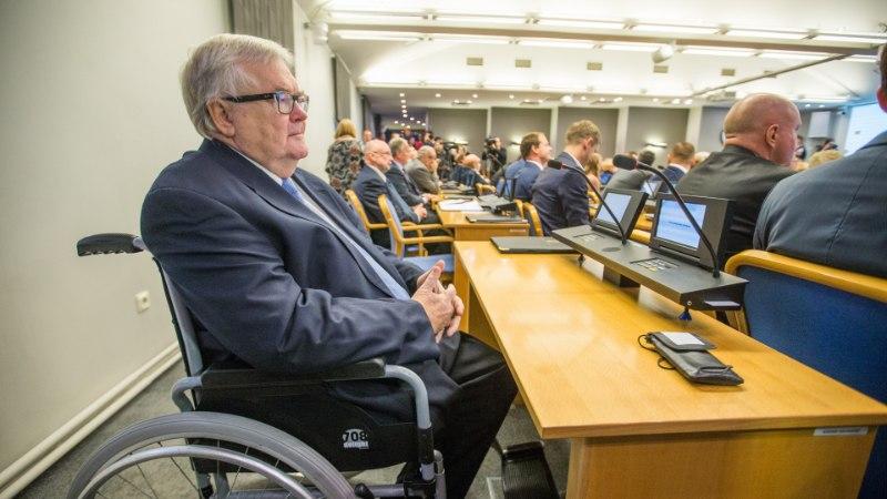 Edgar Savisaar osales volikogu 18 istungist vaid neljal