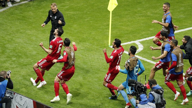 Iraan lõi värava, aga VAR polnud nõus ja Hispaania pääses võiduga