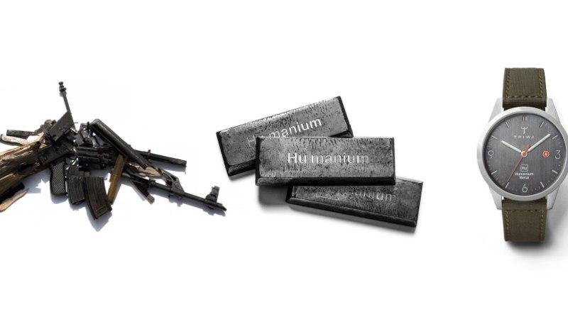 Relvad atradeks ... või ajanäitajateks! Vaata, millist materjali kasutavad Rootsi disainkellade meistrid