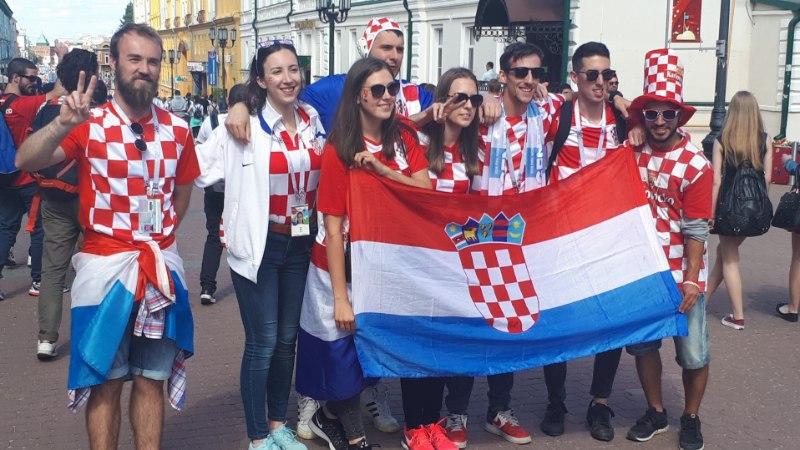 ÕL NIŽNI NOVGORODIS | FOTOD: Horvaadid ja argentiinlased vallutasid linna, õhtul tuleb vägev lahing
