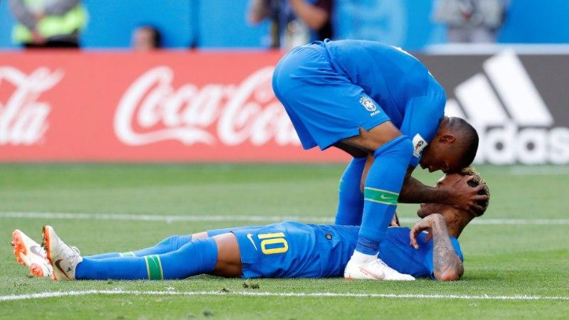 Costa Rica müür pidas 90 minutit, kuid Brasiilia sai oma võidu kätte