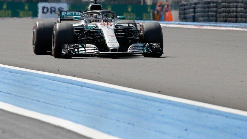 NII SEE JUHTUS | Lewis Hamilton võitis üle pika aja kavas olnud Prantsusmaa F1 etapi ning tõusis sarja liidriks