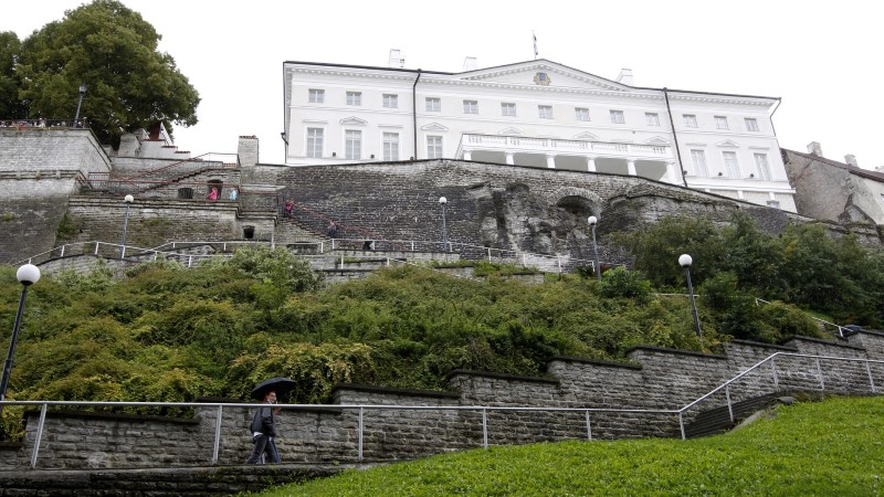 Stenbocki maja juures käivad korrastustööd sulgevad Patkuli trepi