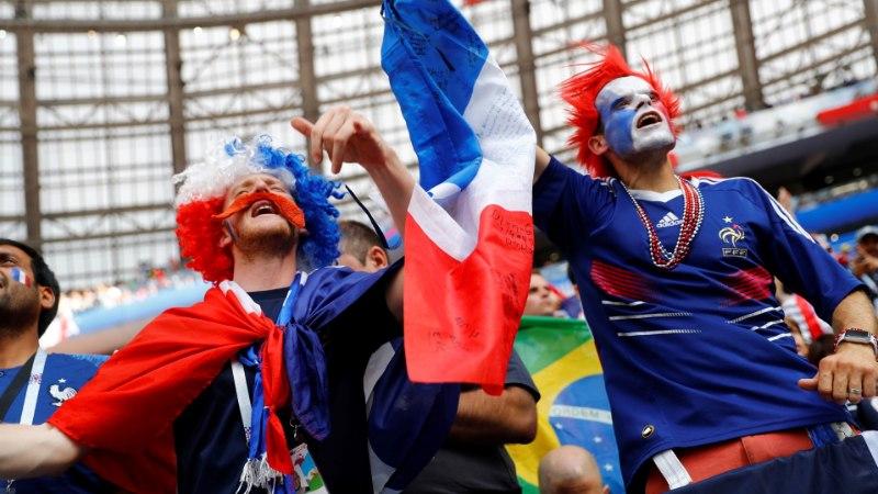 ÕL MOSKVAS | VIDEO | Vaata, mis toimub Lužniki staadioni ümbruses enne suurt matši!