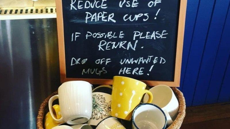 NUTIKAS! Kohvik kaotas oma ettevõttest plastiktopsid eriti ökosõbraliku ideega