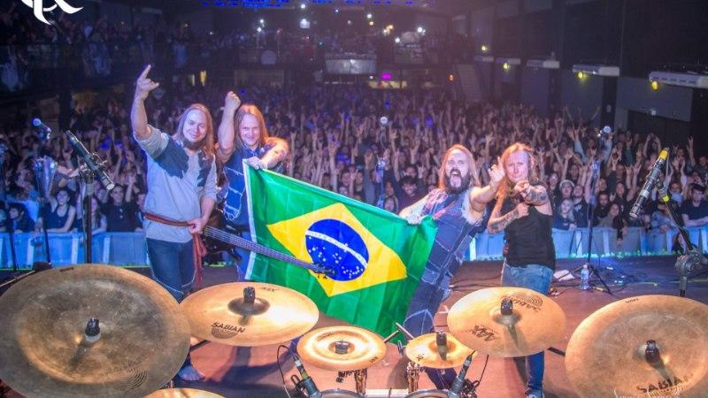 Brasiilias tuuritanud Metsatöll: kohalikud laulsid täiest kõrist eestikeelseid laule kaasa
