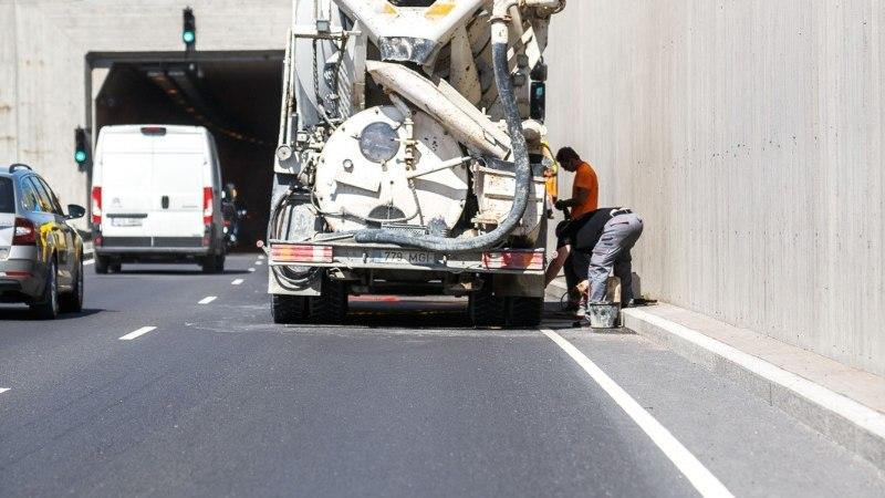 GALERII | Purunenud betooniveok blokeeris Ülemiste tunnelis liikluse