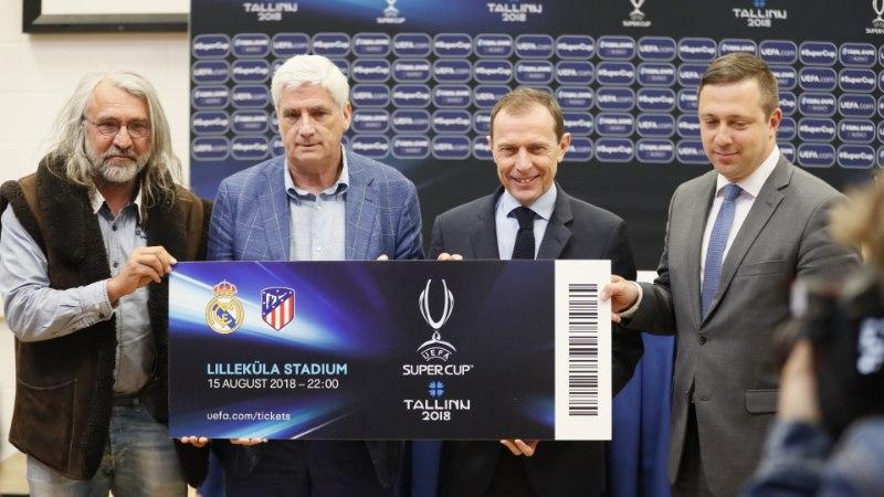 GALERII | Mitme euro eest näeb Tallinnas Ronaldot? Selgusid UEFA superkarikamängu piletihinnad