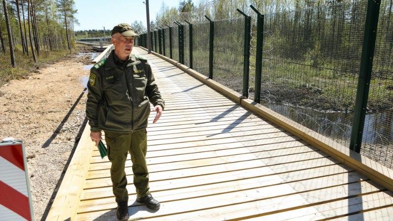 PIIRIESINDAJA AIMAR KÖSS: ärge minge Vene Föderatsiooni piiriposte kallistama!
