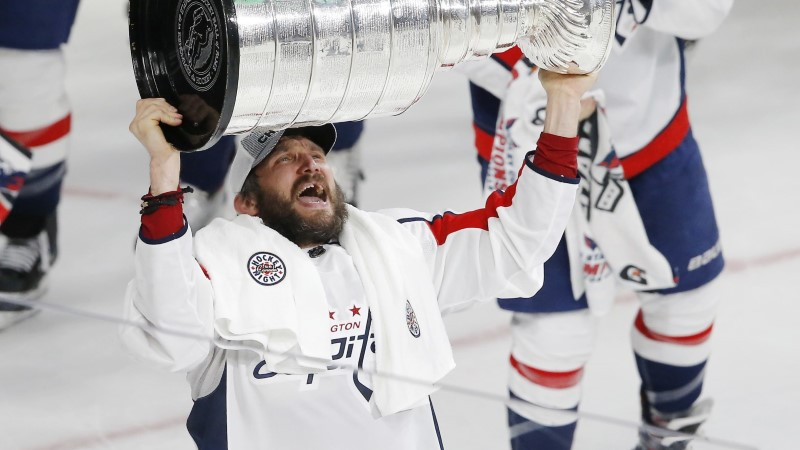 Washington võitis Stanley karika, kapten Ovetškinil topeltrõõm
