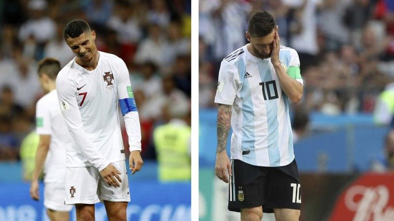 Superstaarid Messi ja Ronaldo langesid ühe õhtuga