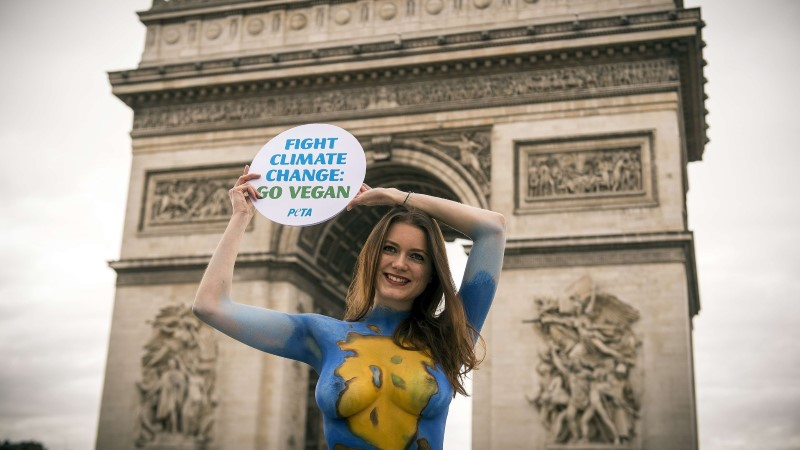 Prantsusmaa veganid kimbutavad lihunikke