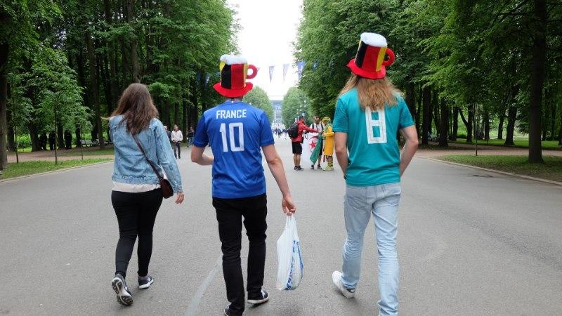 ÕL PETERBURIS | GALERII | Hollandikeelne belglane selgitab, mida tähendab matš suure naabri Prantsusmaa vastu