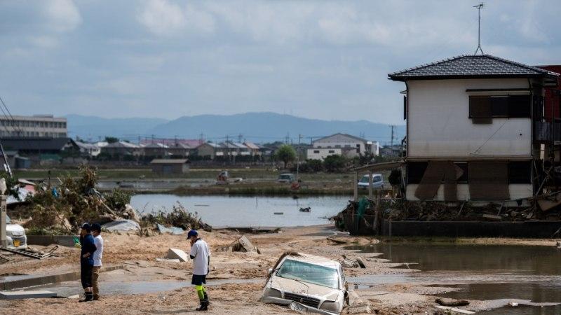Jaapani üleujutused on nõudnud 155 inimese elu