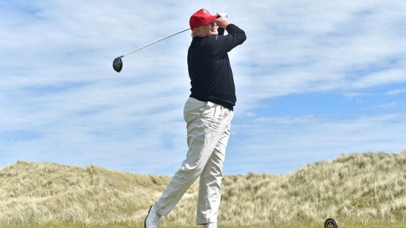 108-kilone Trump pandi dieedile. Siht on alla saada 4-7 kilo