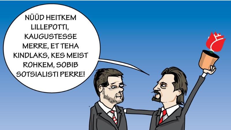 Juhtkiri | Kas erakonnal on Ossinovskist kopp ees?