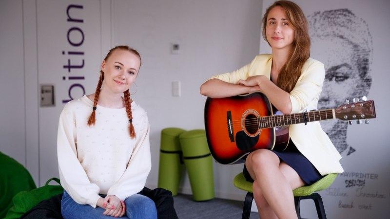 ÕL VIDEOINTERVJUU   Noortebändi poolfinalist Evelin Kivi usub imedesse: arstid ütlesid, et ma ei tohi enam laulda