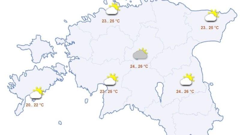 NÄDALAVAHETUSE ILM: vaja läheb nii päikesekreemi kui vihmavarju!