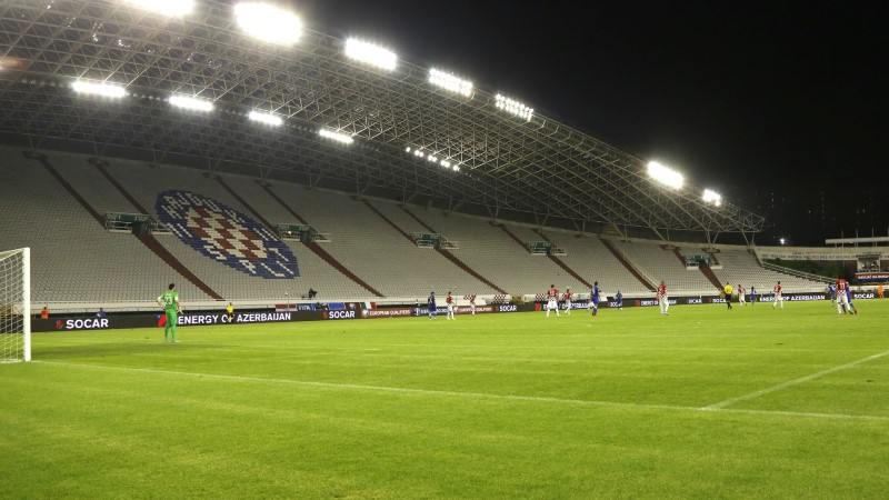 Inglismaa üritab Horvaatialt revanši võtta tühjal staadionil, põhjuseks haakrist