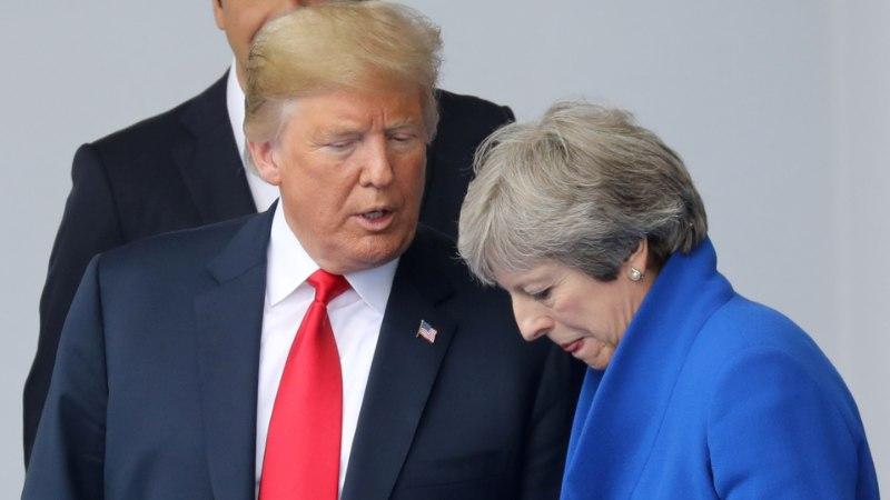 Trump: Brexit-plaan tapab vabakaubandusleppe USA-ga