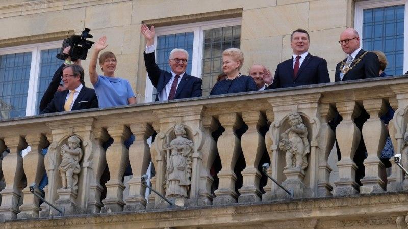 President Kaljulaid võttis Eesti nimel vastu Vestfaali rahu auhinna